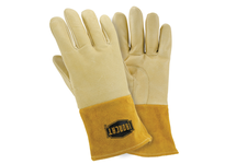 West Chester 6020/L Insulated top grain pigskin MIG welding glove straight thumb 4^ cuff Kevlar sewn.