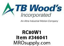 TBWOODS RC80W1 RC80WX1 ROTO-CONE