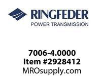 Ringfeder 7006-4.0000 4^ ECOLOC 7006-IN Locking assembly