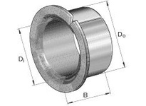 INA PAF06080P11 Flanged plain bearing