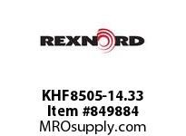 REXNORD KHF8505-14.33 KHF8505-14.33 KHF8505 14.33 INCH WIDE RUBBERTOP M