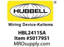 HBL_WDK HBL2411SA LKG S/SHRD ANG PLG 20A125/250VL14-20P