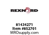 REXNORD 81434271 P1505-15 SS ROD P1505 15 INCH WIDE MATTOP CHAIN WIT