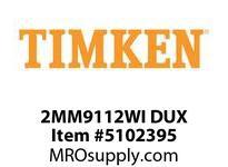 TIMKEN 2MM9112WI DUX Ball P4S Super Precision