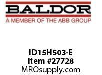 BALDOR ID15H503-E AC INVERTER 575V 15H 2/3/5HP 1 DYN TRANS