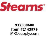 STEARNS 932300600 DOWEL PIN 3/8 D X 1^-STL 8059808