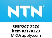 NTN SESP207-22C0 Stainless-Mounted bearing unit