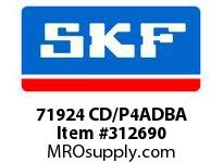 SKF-Bearing 71924 CD/P4ADBA
