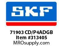 SKF-Bearing 71903 CD/P4ADGB