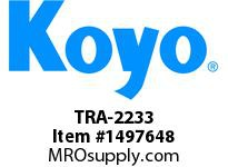 Koyo Bearing TRA-2233 NEEDLE ROLLER BEARING THRUST WASHER
