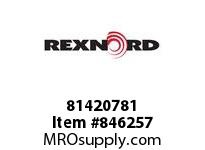 REXNORD 81420781 HT8505-6 MTW PT HT8505 6 INCH WIDE MOLDED-TO-WIDTH