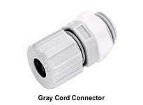 HBL-WDK HJ1002GPK25 JR CORD CONN .14-.20 1/4 GY 25PACK
