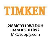 TIMKEN 2MMC9319WI DUH Ball P4S Super Precision