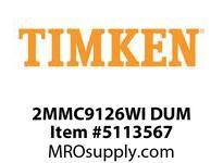 TIMKEN 2MMC9126WI DUM Ball P4S Super Precision