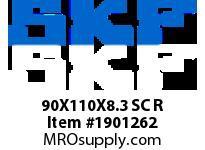 SKFSEAL 90X110X8.3 SC R HYDRAULIC/PNEUMATIC PROD