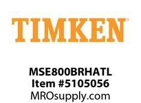 TIMKEN MSE800BRHATL Split CRB Housed Unit Assembly