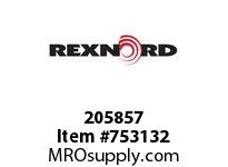 REXNORD 205857 599073 262.S71-8.CPLG STR SD