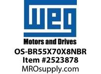WEG OS-BR55X70X8NBR OIL SEAL NITRILIC FOR 311BRG Integrals