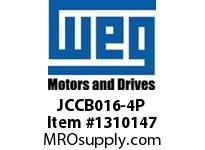 WEG JCCB016-4P 4P 16A 4NO CON CWC DC COIL Contactors