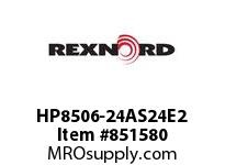 REXNORD HP8506-24AS24E2 HP8506-24 2AS-T24P HP8506 24 INCH WIDE MATTOP CHAIN WI