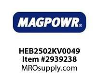 MagPowr HEB2502KV0049 HEB-250 PNEUMATIC BRAKE