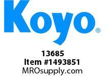 Koyo Bearing 13685 TAPERED ROLLER BEARING