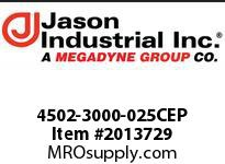 Jason 4502-3000-025CEP 3 X 25 PVC BLUE WATER DISC