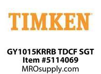 TIMKEN GY1015KRRB TDCF SGT WIR Set Screw, Plated