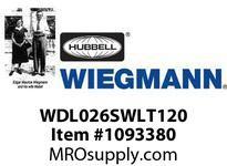 WIEGMANN WDL026SWLT120 LIGHTW/ON-OFF SWTCH120V20W