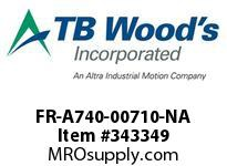 TBWOODS FR-A740-00710-NA CT 50HP (ND) 40HP (HD) 480V