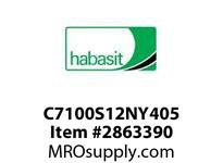 Habasit C7100S12NY405 7100K0405 Sprocket 12T Machined Nylon