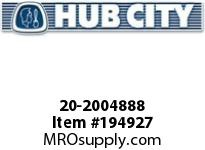 HUBCITY 20-2004888 5H 29.89/1 S A2 3.438 PARALLEL SHAFT DRIVE
