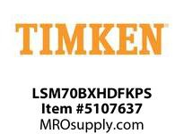 TIMKEN LSM70BXHDFKPS Split CRB Housed Unit Assembly