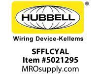 HBL_WDK SFFLCYAL FIBER SNAP-FITFLSHLC DUPLXYLP-BZAL