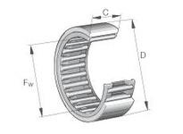 INA RNAO50X65X20 Precision needle bearing