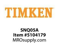 TIMKEN SNQ05A Split CRB Housed Unit Component