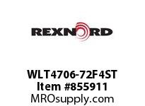 REXNORD WLT4706-72F4ST WLT4706-72 F1 T4P N1.1 SP CONTACT PLANT FOR ACCURATE DESCRIPT