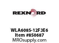REXNORD WLA6085-12F3E6 WLA6085-12 F3 T6P N1 WLA6085 12 INCH WIDE MATTOP CHAIN W