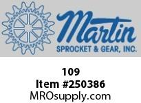 Martin Sprocket 109 HUB DETACHABLE SOLID