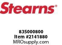 STEARNS 835000800 CS HH 1/4-20 X 1/2-L9PLS 8022201