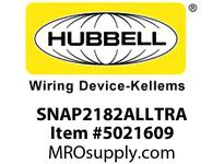 HBL_WDK SNAP2182ALLTRA SNAPCONNECT DECO HG 20A/125V LED TR AL