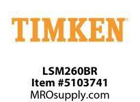 TIMKEN LSM260BR Split CRB Housed Unit Component