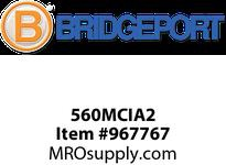 "Bridgeport 560MCIA2 3/8"" MCI-A CABLE INS connector"