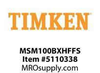 TIMKEN MSM100BXHFFS Split CRB Housed Unit Assembly