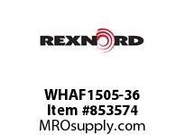 REXNORD WHAF1505-36 WHAF1505-36 WHAF150 36 INCH WIDE MATTOP CHAIN W