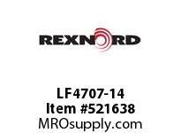 REXNORD LF4707-14 LF4707-14 143112