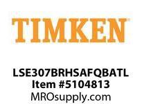 TIMKEN LSE307BRHSAFQBATL Split CRB Housed Unit Assembly