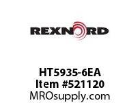 REXNORD HT5935-6EA HT5935-6 E8-1/8D 148336
