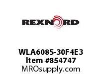 REXNORD WLA6085-30F4E3 WLA6085-30 F4 T3P WLA6085 30 INCH WIDE MATTOP CHAIN W