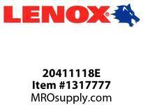 Lenox 20411118E E-RECIP-118E 11 X1X062X 8 - 280X25X16X32